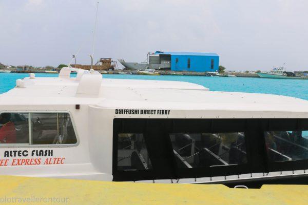 The Dhiffushi Ferry