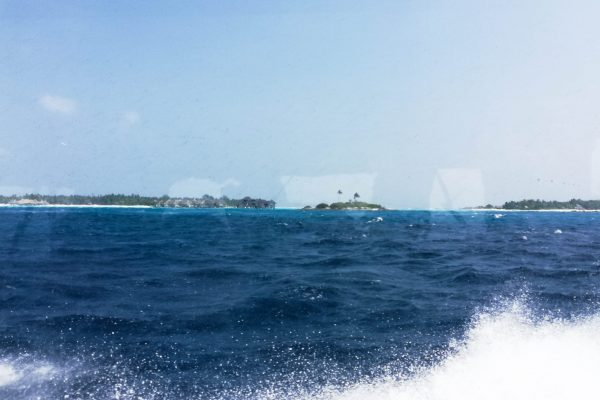 Last view of the islands